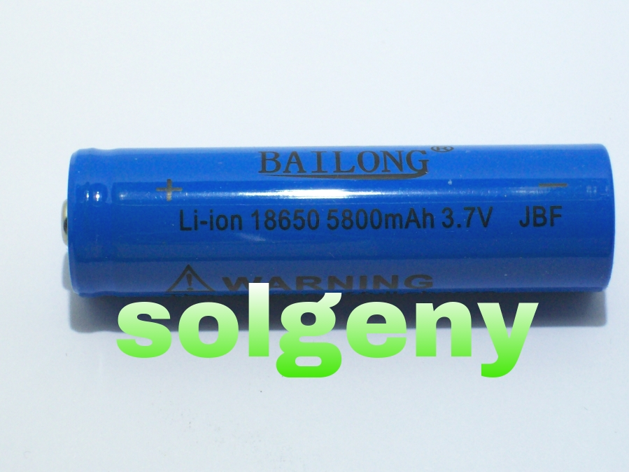 Pila Batteria LC 18650 Litio Ricaricabile 3.7 5800 mAh V SOFTAIR